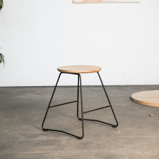 HS450 Stool by HUNT FURNITURE - American Oak, Tasmanian Oak, Stool, Minimal