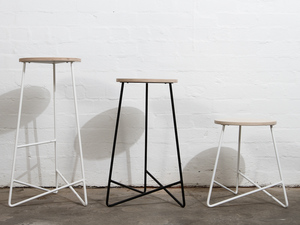Luncheon Stool by Like Butter - Stool, Bar Stool, Dining Stool, Minimal