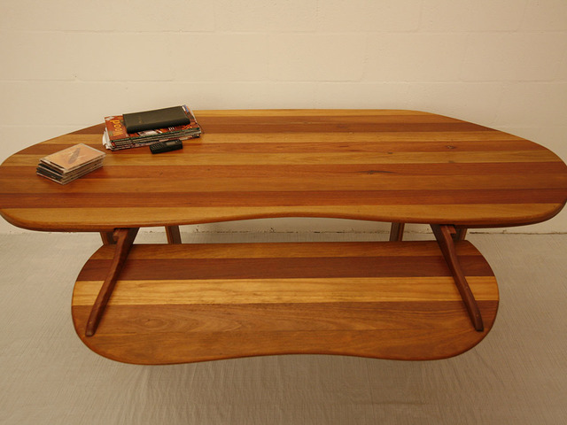 Mixed Hardwood Computer Desk by Holger Schumann - Office Furniture, Computer Desk, Hardwood, Desk
