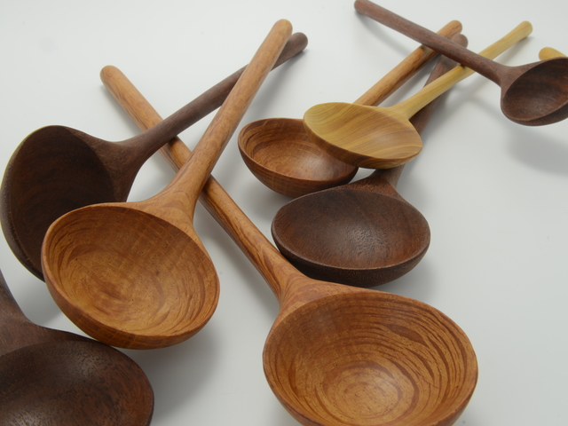 Spoons - Turned by Turner + Turner - Spoon, Homewares, Kitchen