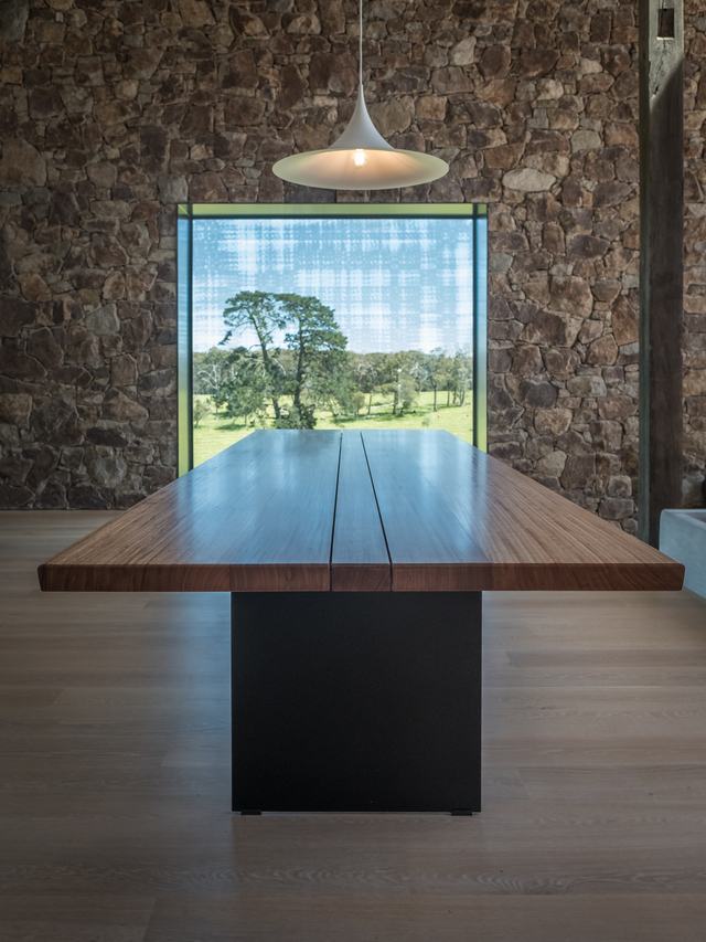 Old Barn Dining by Trevor Neal - Furniture, Contemporary Furniture, Dining Table, Interior Design, Interiors, Recycled Timber, Fine Furniture, House