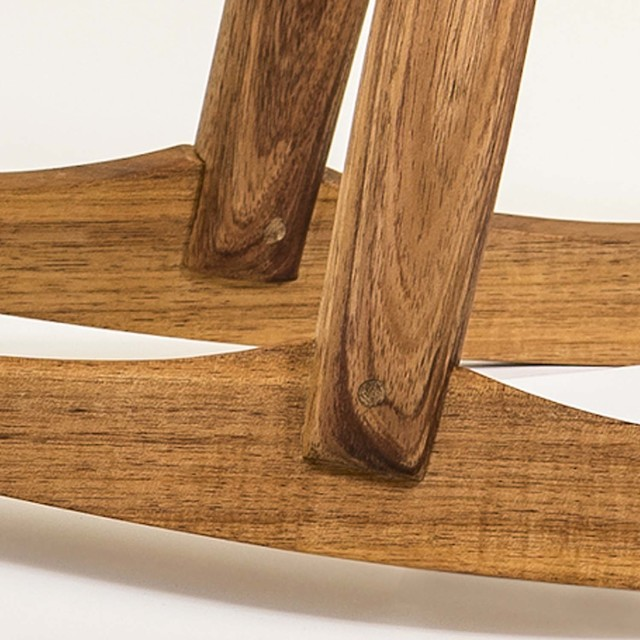 Lowbow Rocker by Bernard Chandley - Rocker Chair, Contemporary Furniture, Timber, Tasmanian Blackwood
