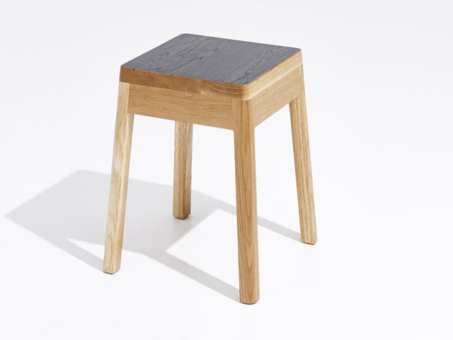 Cinder Stool Short by Apparentt - Stool, American Oak, Timber, Bespoke, Made To Order, Custom Made