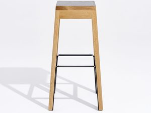 Cinder Stool Tall by Apparentt - Stool, High Stool, Bar Stool, Timber, Made To Order, Custom Made, American Oak