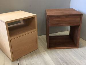 Cube Sidetable by Chris Colwell - Side Table, Bedside Table, Minimalistic, American Oak, American Walnut, Made To Order, Custom Made