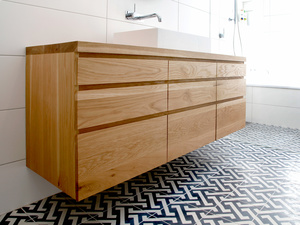 Ballina timber vanity by Bombora Custom Furniture - Bathroom Vanity, Floating Vanity, Timber Vanity, Custom Vanity, Solid Timber Vanity, Wood Vanity, Bespoke Vanity, Ballina Vanity