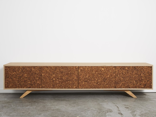 Kork Entertainment Unit by Felix Furniture - Cork, American Oak, Plywood, Tv Unit, Entertainment Unit
