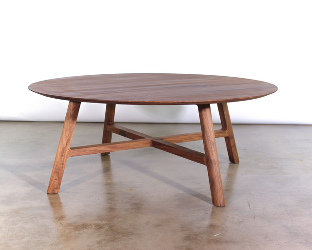 Crossover Coffee Table by Matt Pearson - Coffee, Table, Walnut, Solid, Ash