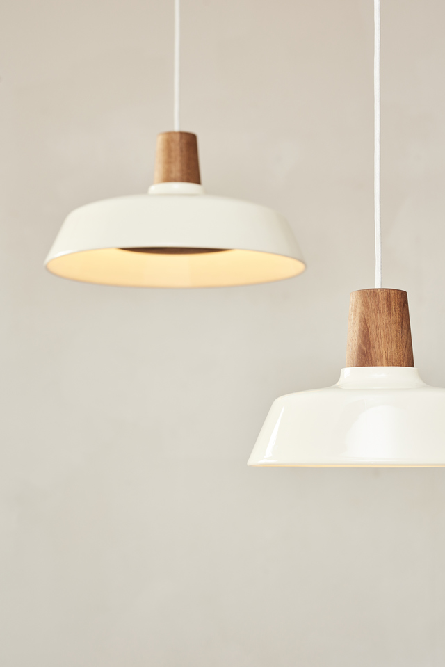 Turns Pendant by Asher Abergel - Pendant, LED, Blackwood