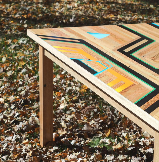 Autumn Lizzy by Flitch & Rasp - Recycled Timber, Furniture, Oregon, Blackbutt, Custom Built
