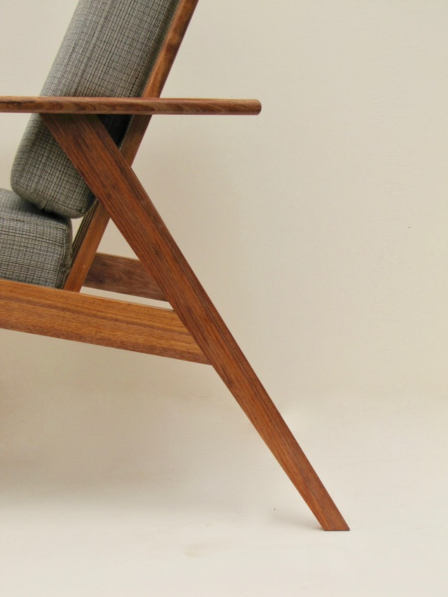 Lounge Chair  by Ross Thompson - Chair, Armchair, Mid Century, Couch, Lounge Chair, Reading Chair
