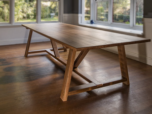 Yellowbox Dining Table by Oliver Stuart - Table, Diningtable, Farmhouse, Recycledwood