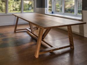 Yellowbox Dining Table by Oliver Stuart - Table, Diningtable, Farmhouse, Recycledwood