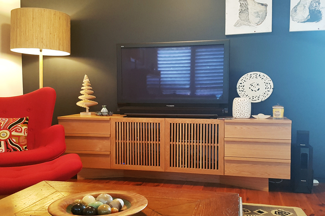 VL200 Sideboard by Senkki Furniture - Contemporary Entertainment Unit, Sideboard, Entertainment Unit, Media Unit, TV Unit, Lowline Cabinet, Modern Furniture, Custom Furniture, Custom Made Furniture
