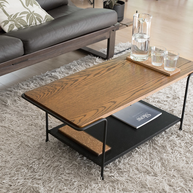 Staple Coffee Table by The Staple Collection - Coffee, Table, Coffee Table, Perforated, Black, Rod, Wire, Minimal