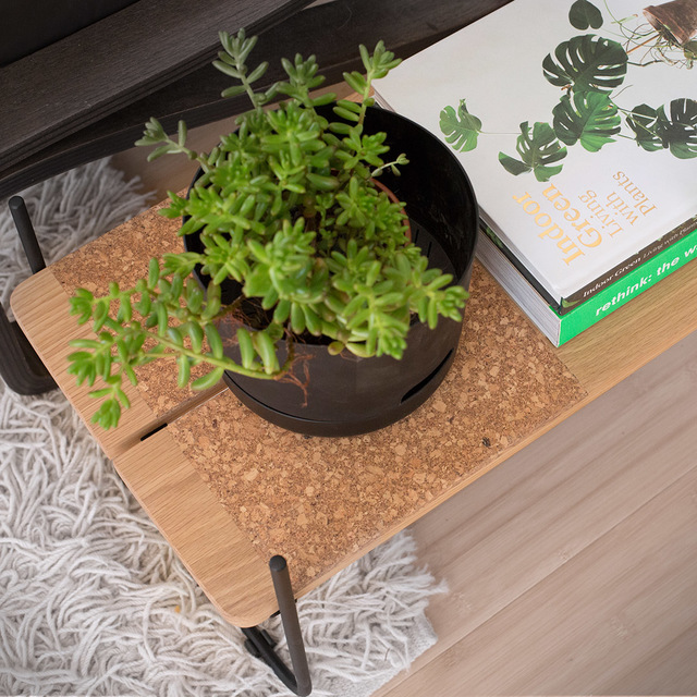 Staple Plant Stand by The Staple Collection - Plants, Plant Stand, Cork, Minimal, Planter, Shelving