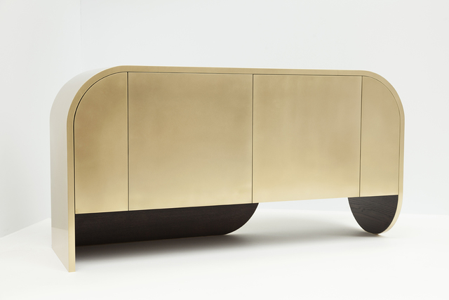 In Brass n2 by Jonathan West - Brass Cabinet, Sideboard