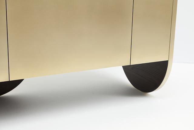 In Brass n2 by Jonathan West - Brass Cabinet, Sideboard