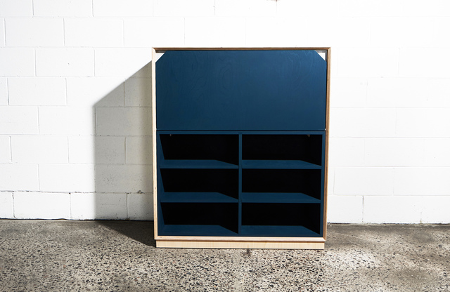 Writing Bureau by So Watt - Storage, Hutch, Plywood, Wax, Small Spaces, Desk