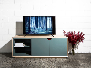 Media Unit by So Watt - TV Unit, Birch, Ply, Custom, Small Spaces