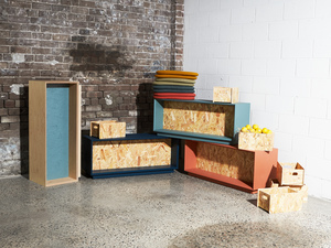 Bench Seat by So Watt - Multi Purpose, Modular, Small Spaces