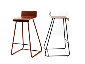Bar Stool by So Watt - Bar Stool, High Stool, Metal Stool, Steel, Customise
