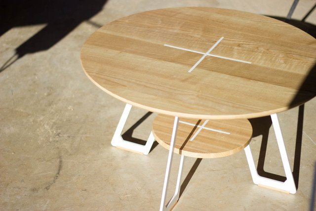 Yugar - Coffee Table by Lee Sinclair Design Co - Laser Cut, Timber, Wood, Coffee, Table, Small Table, Coffee Table, Powdercoat
