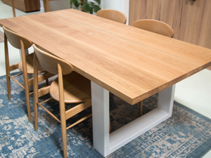 Daphne American Oak Dining Table by Retrograde Furniture - Timber Dining Table, Dining Table, Custom Tabl