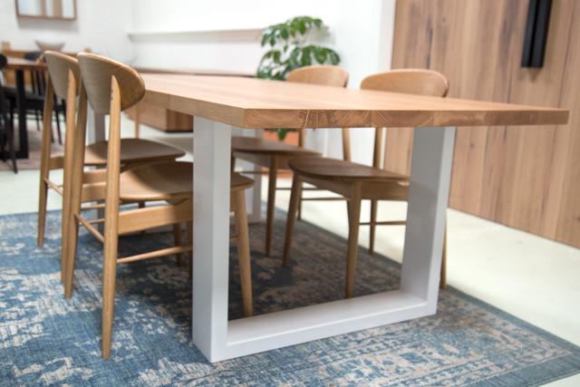 Daphne American Oak Dining Table by Retrograde Furniture - Timber Dining Table, Dining Table, Custom Tabl