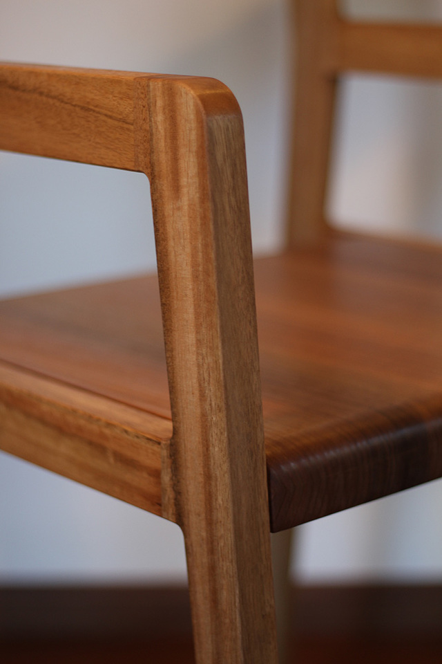 Hamilton chair by David Cummins - Chair, Contemporary, Minimalist, Bespoke, Sustainable