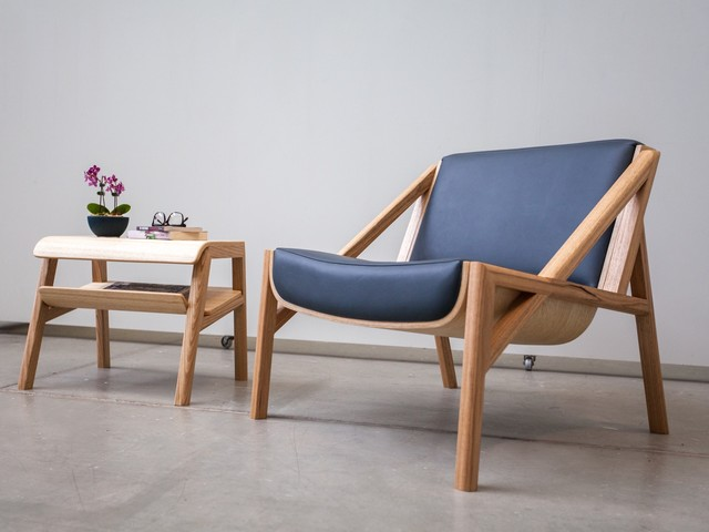 Glacier Chair  by Geoffrey Cameron Marshall - Custom Furniture, Made To Order, Modern, Furniture
