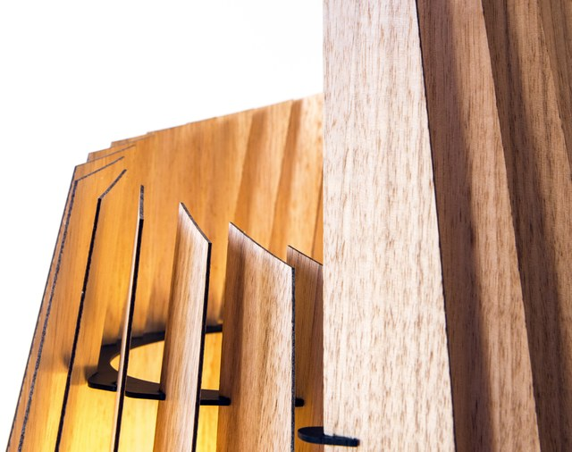 LV Conus Floor Lamp by Geoffrey Cameron Marshall - Custom Lighting, Made To Order, Modern, Floor Lamp, Lighting
