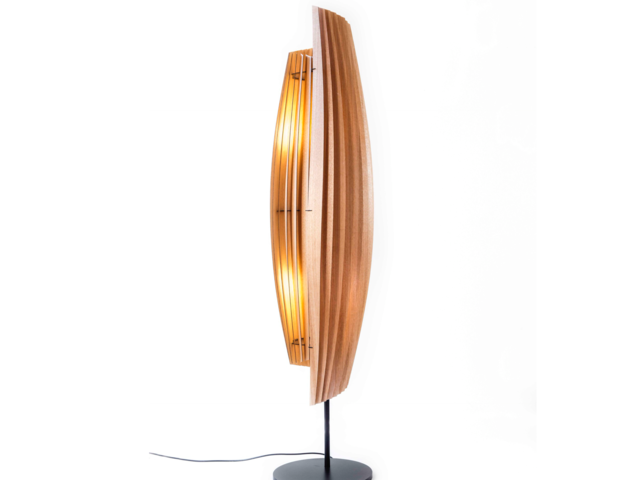 LV Conus Floor Lamp by Geoffrey Cameron Marshall - Custom Lighting, Made To Order, Modern, Floor Lamp, Lighting