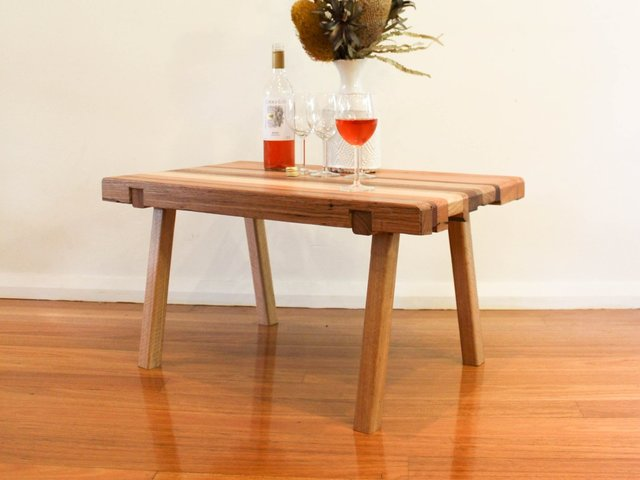 Isaac Coffee Table by The Bower Woodworks - Reclaimed, Wood, Coffee Table, Table, Salvaged