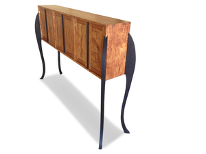 A Portly Affair - Fully Customisable Tasmanian Blackwood Designer Wooden Cabinet by Will Marx - Mid Century Classic, Solid Timber Cabinet, Wooden Storage Cabinet, Contemporary Minimalist Cupboards, Designer Wine Cabinet, Adjustable Removable Shelving, Custom Handmade Furniture, Tasmanian Blackwood, Wenge Timber, Home Office Furniture