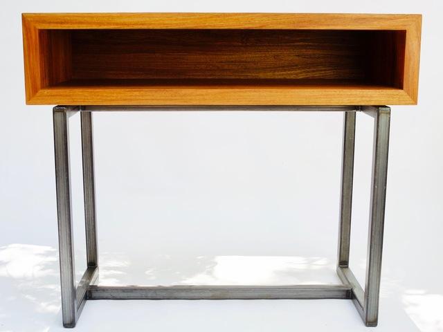 Solid new guinea rose wood hall bureau by argon bespoke handkrafted