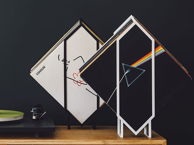 Jex Vinyl Stand by Idle Hands Design - Vinyl, Music, Records, LPs