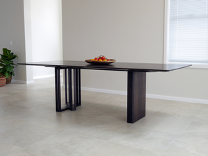 Giacci Dining Table by Nathan Day Design - Ebonised, Ebonized, Walnut, Custom Designed, Table