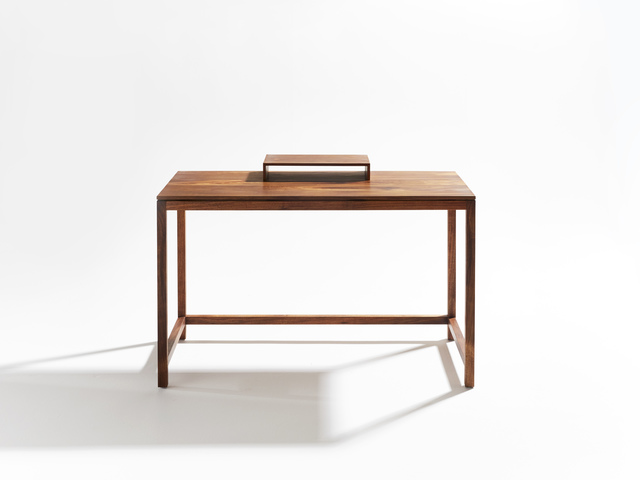 Vicenza Writing Desk by Stivanello Bespoke - Contemporary Furniture, Tasmanian Blackwood, Modern Furniture, Writing Desk, Laptop Desk, Bespoke Furniture, Handmade