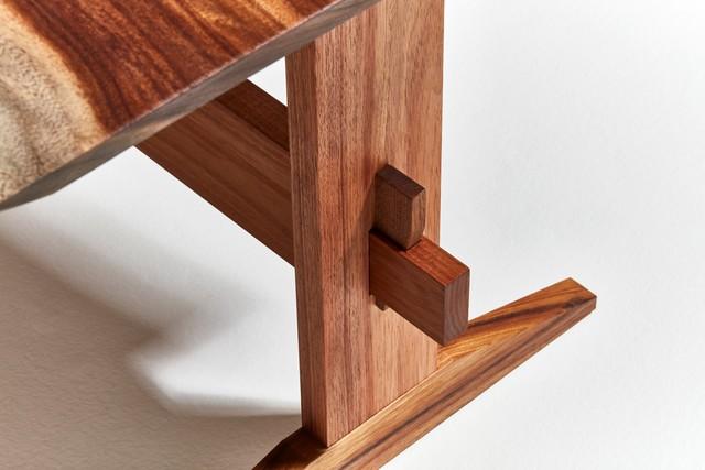 Kokko Desk by Dante  Stivanello - Contemporary Furniture, Bespoke Furniture, Made To Order, Tasmanian Blackwood, Natural Edge Furniture