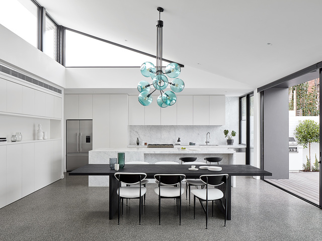 Tree of Light by ILANEL - Chandelier, Glass Shades, Glass, Brass, Custom