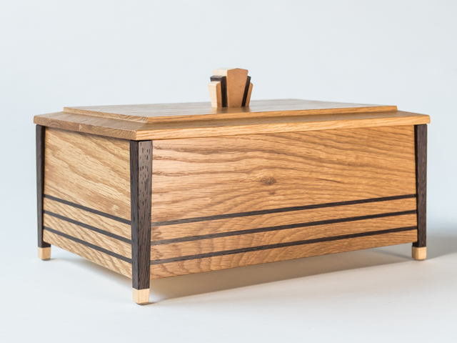 Deco Jewellery Box by Christopher Neal - Jewellery Box, Anniversary Gift, Jewelry Box
