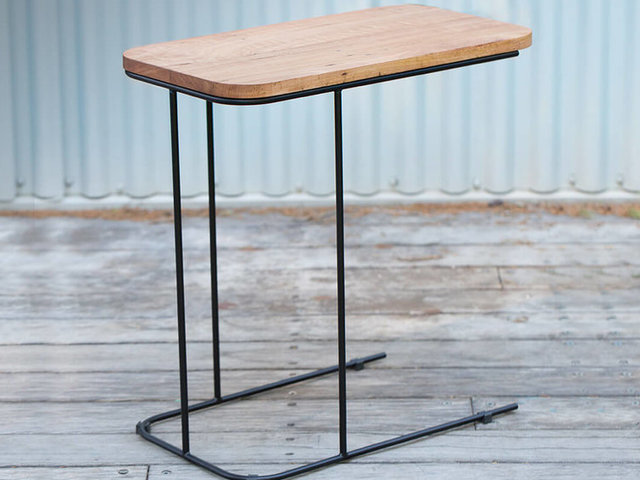 Staple Side Table by The Staple Collection - Sofa, Side Table, Sofa Table, American Oak, Recycled Messmate, Small Table