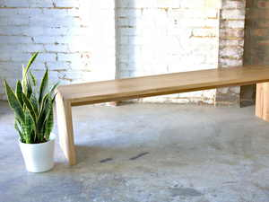 Elaine Bench by Lloyd Brooke - Custom Furniture, Custom Dining, Hardwood Furniture, Furniture Makers, Furniture Melbourne, Recycled, Reclaimed, Melbourne, Handmade Furniture, Melbourne Makers