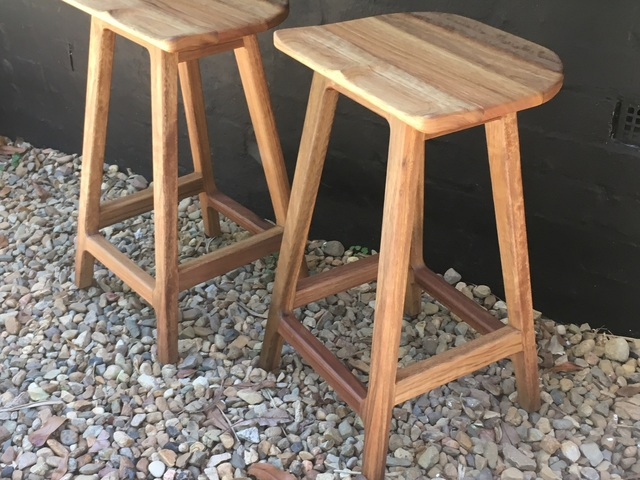 "The ""A stool"" by Lars Laug - Stools, Timber Stools"