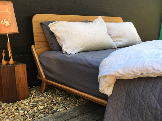 MM-Round Bed by Lars Laug - Bed, Timber Bed