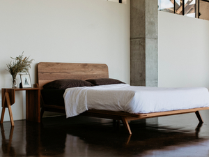MM-Round Bed by Lars Laug - Bed, Timber Bed, Handmade Bed