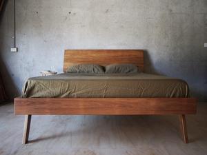 Tall Bed by Reuben Daniel - Tasmanian Blackwood, Bedframe, Bedhead, Bedroom