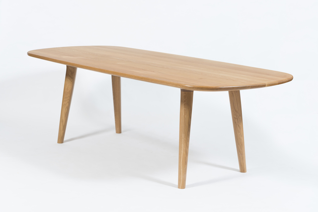 The Aria  by Buywood Furniture - Dining Tables, American Oak, Master Craftsman, Timber Table, Wooden Table, Timber Furniture, Table And Chairs, Wooden Furniture, Brisbane