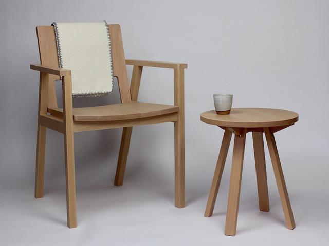 Barrington Armchair by Matt Taylor - Chair, Armchair, Oak, Modern, Scandinavian Style, Australian Made, Local Design